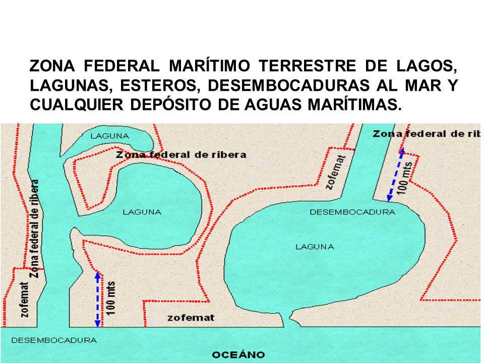 Es la superficie de tierra que queda entre el límite de la actual ZOFEMAT y el límite de la ZOFEMAT original, que se origina por causas naturales (huracanes o ciclones) o artificiales (construcción de espigones, muelles, muros de contención y rellenos).