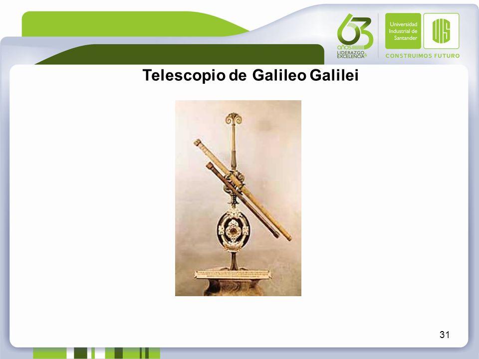 31 Telescopio de Galileo Galilei