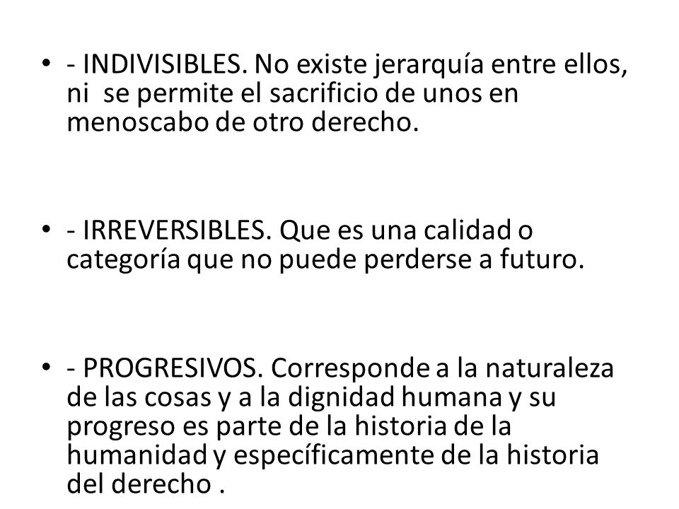- INDIVISIBLES.