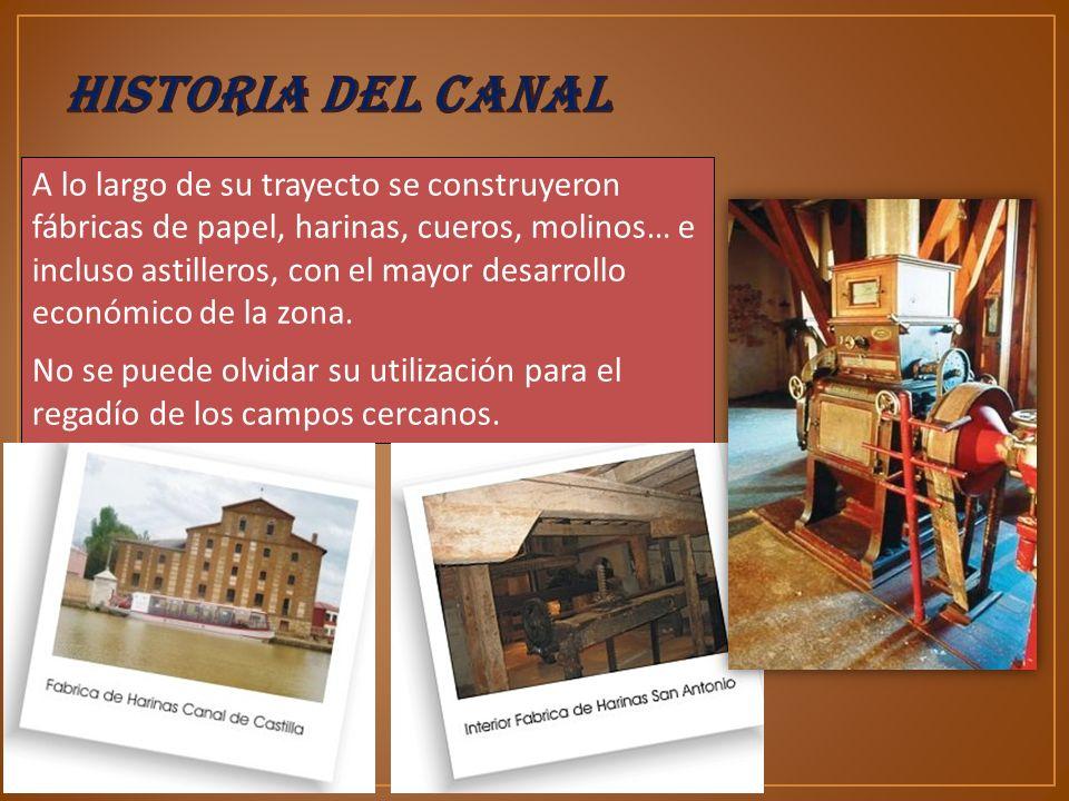 A la altura del Serrón, término municipal de Grijota (Palencia), el Ramal Campos se bifurca en dos, dando lugar al comienzo del Ramal Sur que llega hasta Valladolid.