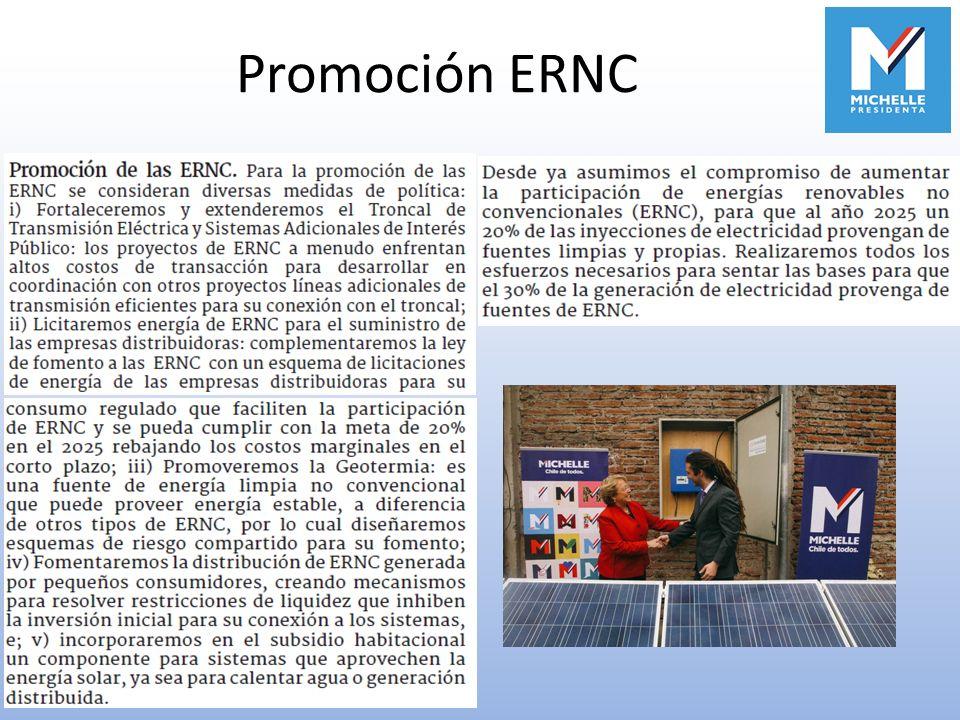 Promoción ERNC