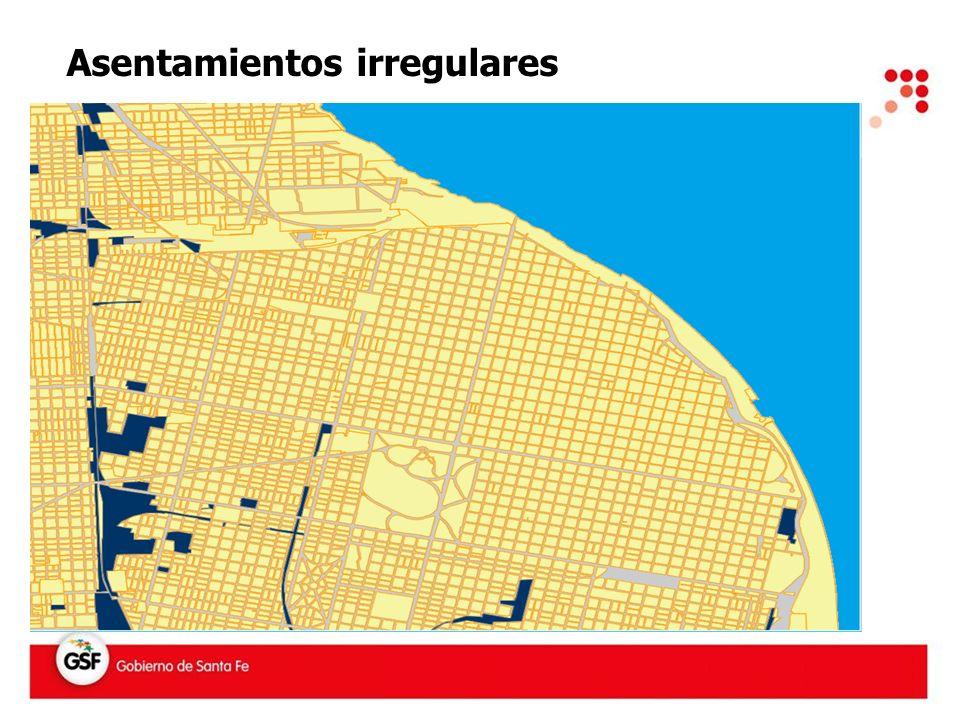 Asentamientos irregulares