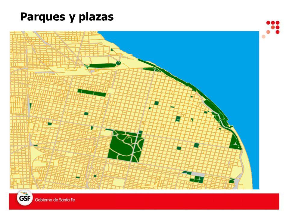 Parques y plazas