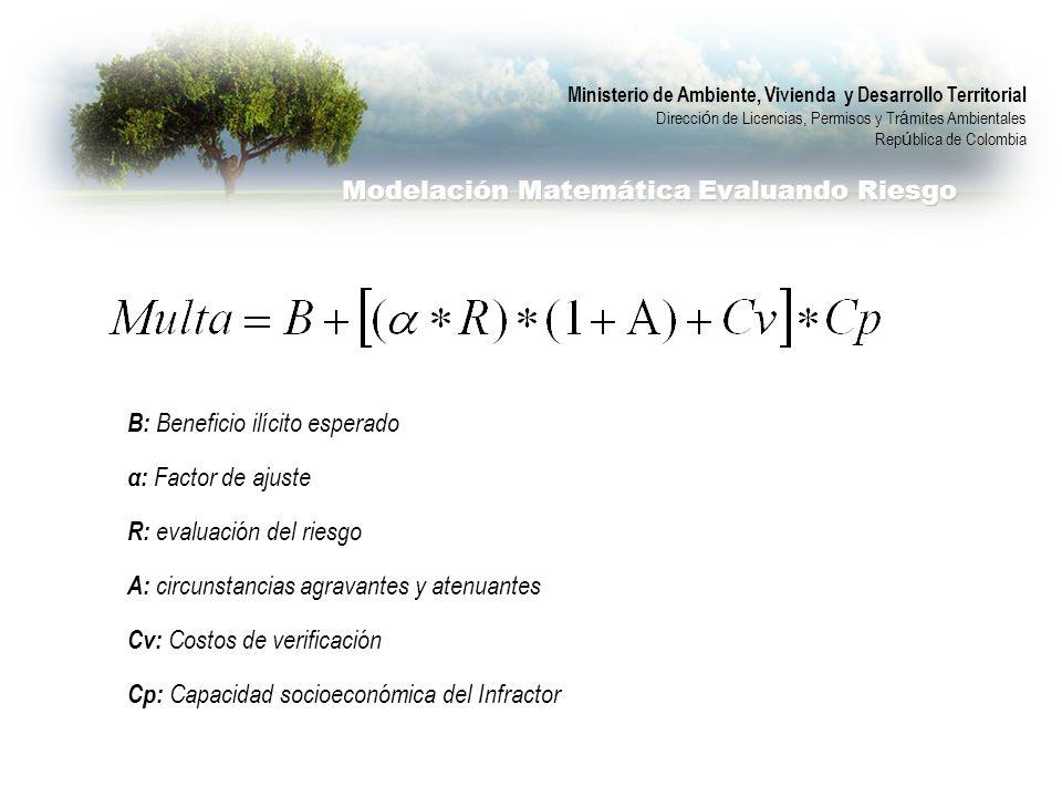 Ministerio de Ambiente, Vivienda y Desarrollo Territorial Direcci ó n de Licencias, Permisos y Tr á mites Ambientales Rep ú blica de Colombia Modelaci