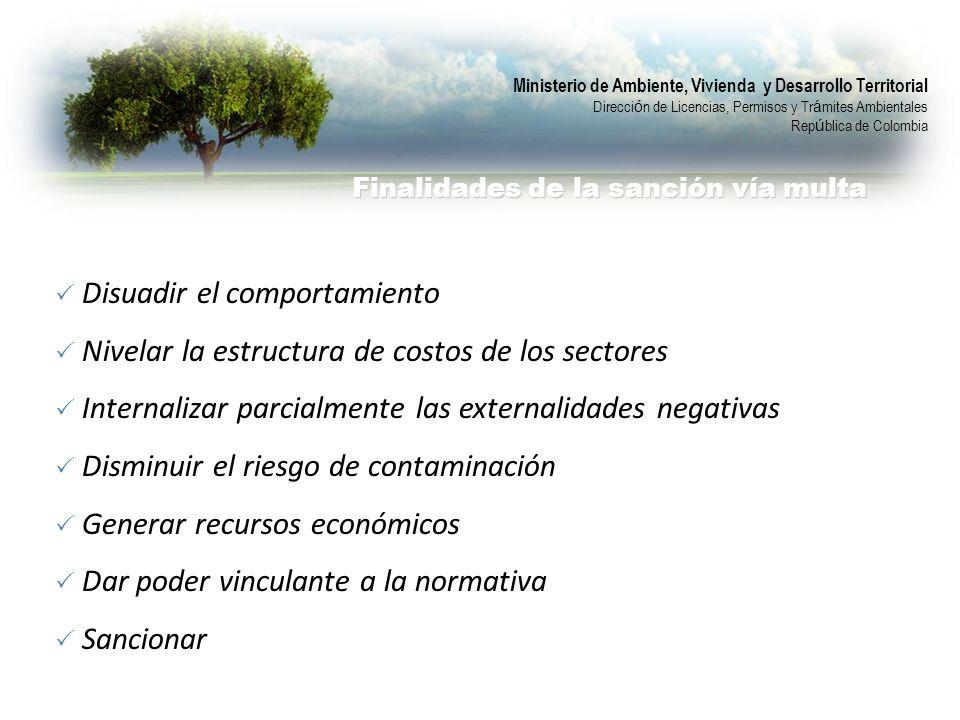 Ministerio de Ambiente, Vivienda y Desarrollo Territorial Direcci ó n de Licencias, Permisos y Tr á mites Ambientales Rep ú blica de Colombia Finalida