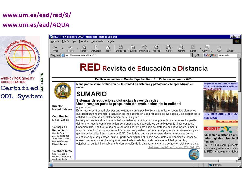 www.um.es/ead/red/9/ www.um.es/ead/AQUA