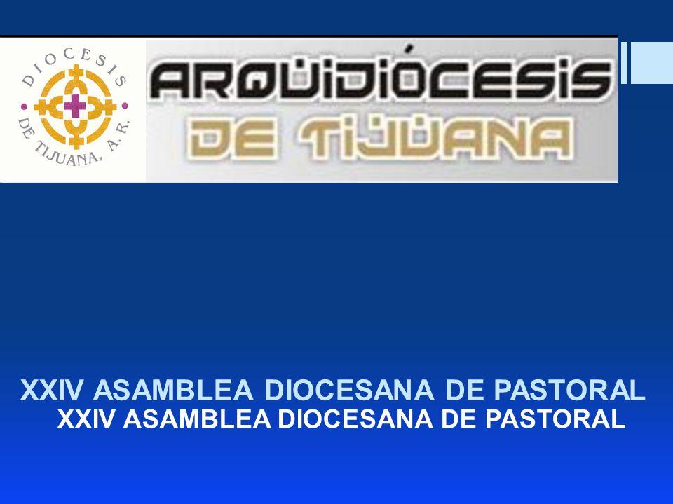 XXIV ASAMBLEA DIOCESANA DE PASTORAL