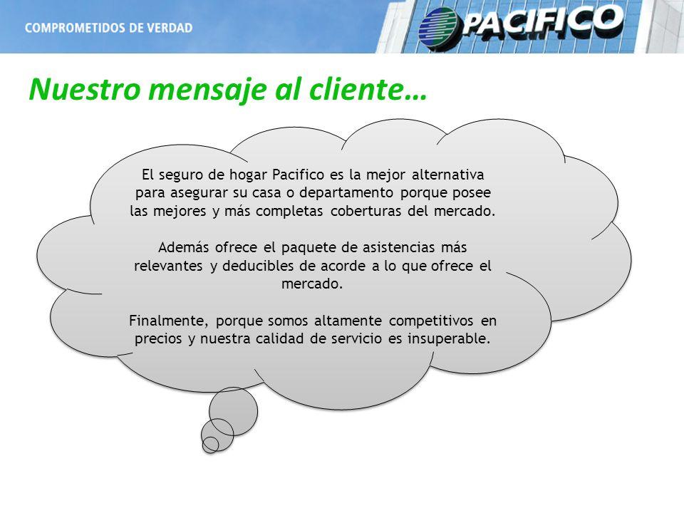 El seguro de hogar Pacifico es la mejor alternativa para asegurar su casa o departamento porque posee las mejores y más completas coberturas del merca