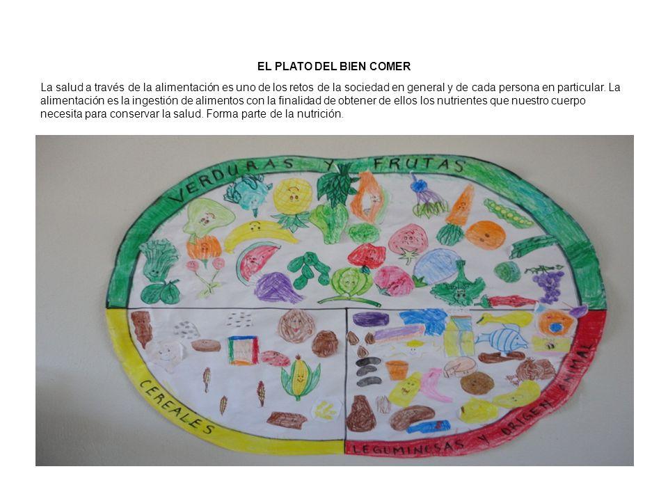 EL PLATO DEL BIEN COMER La salud a través de la alimentación es uno de los retos de la sociedad en general y de cada persona en particular. La aliment