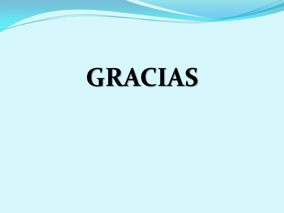 . GRACIAS