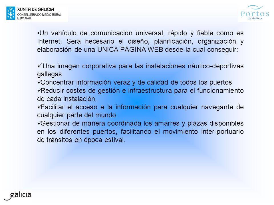 Un vehículo de comunicación universal, rápido y fiable como es Internet. Será necesario el diseño, planificación, organización y elaboración de una UN