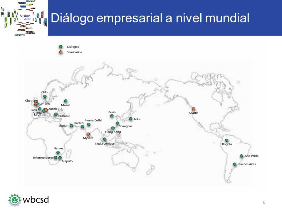 Diálogo empresarial a nivel mundial 6