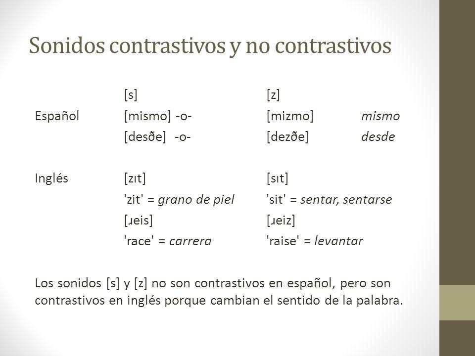 Ventajas y desventajas Una ortografía es particular para un idioma y hay menos letras. Por eso, es más fácil enseñar a los hablantes nativos. Pero pri