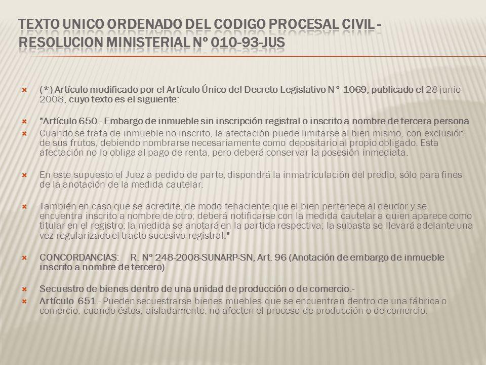 (*) Artículo modificado por el Artículo Único del Decreto Legislativo N° 1069, publicado el 28 junio 2008, cuyo texto es el siguiente: