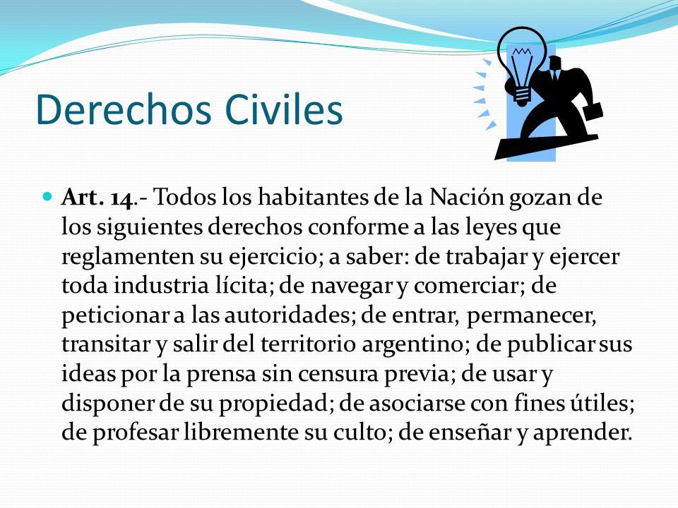 Derechos Civiles Art.