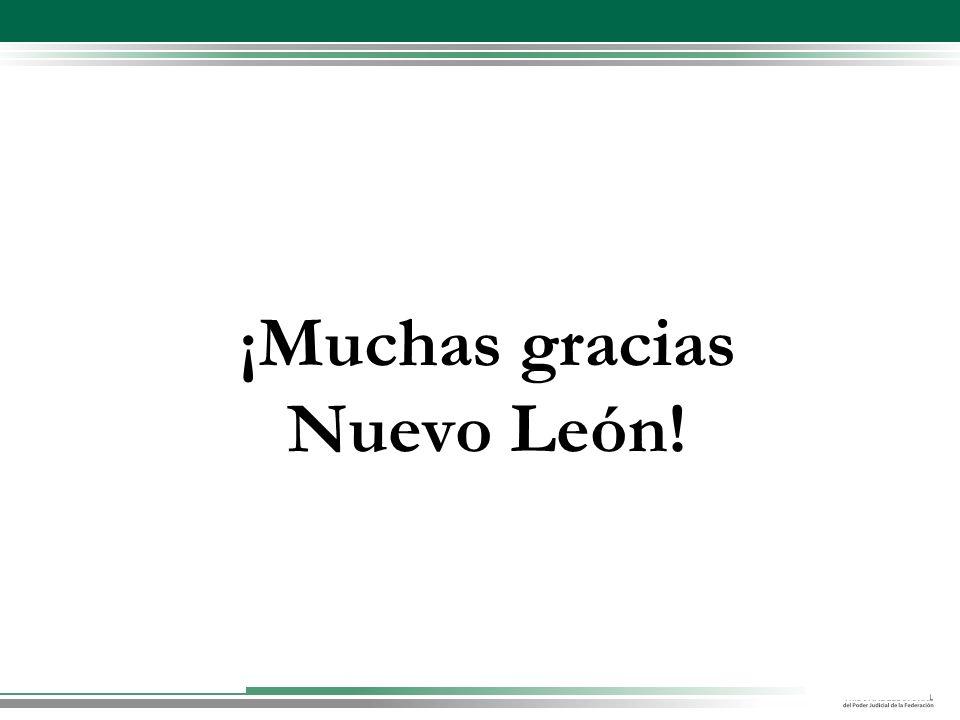 ¡Muchas gracias Nuevo León!