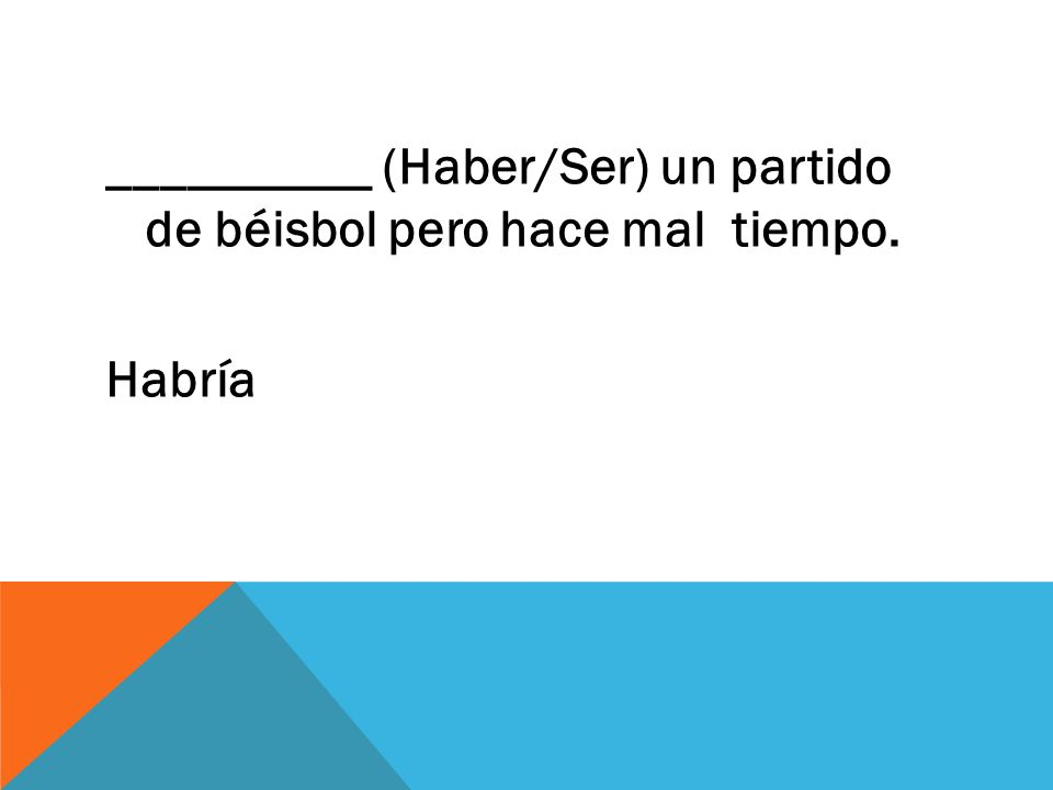 ¿Me enviaste el dinero _______ correo? POR- manner or means by completing an action