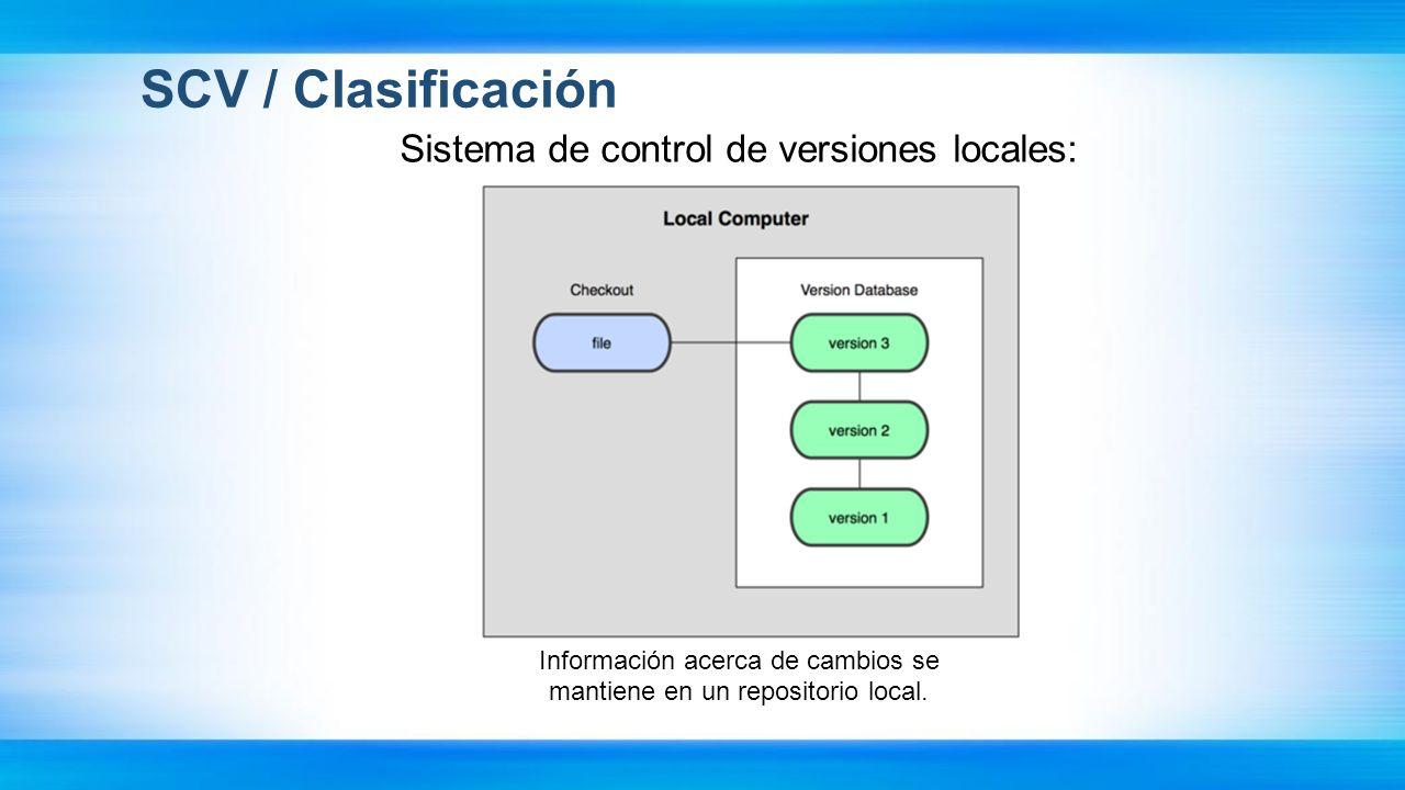 CVS, Subversion Características CVS, Subversion: Manipulación consistente de datos: - Subversion expresa las diferencias del fichero usando un algoritmo de diferenciación binario, que funciona idénticamente con ficheros de texto y ficheros binarios (CVS no los manipula).
