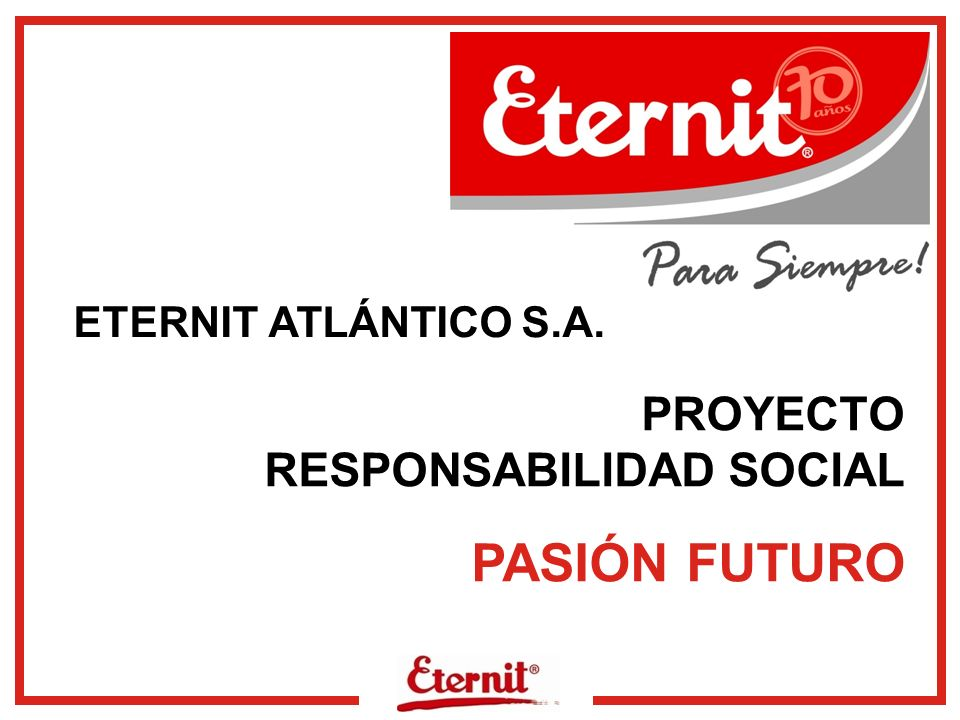 www.eternit.com.co ACTIVIDADES DEL PROGRAMA DE FORMACIÓN COMPLEMENTARIA Septiembre a Diciembre COMUNICACIÓN Y RELACIONES INTERPERSONALESENFERMEDADES DE TRANSMISIÓN SEXUAL SENTIDO DE PERTENENCIA