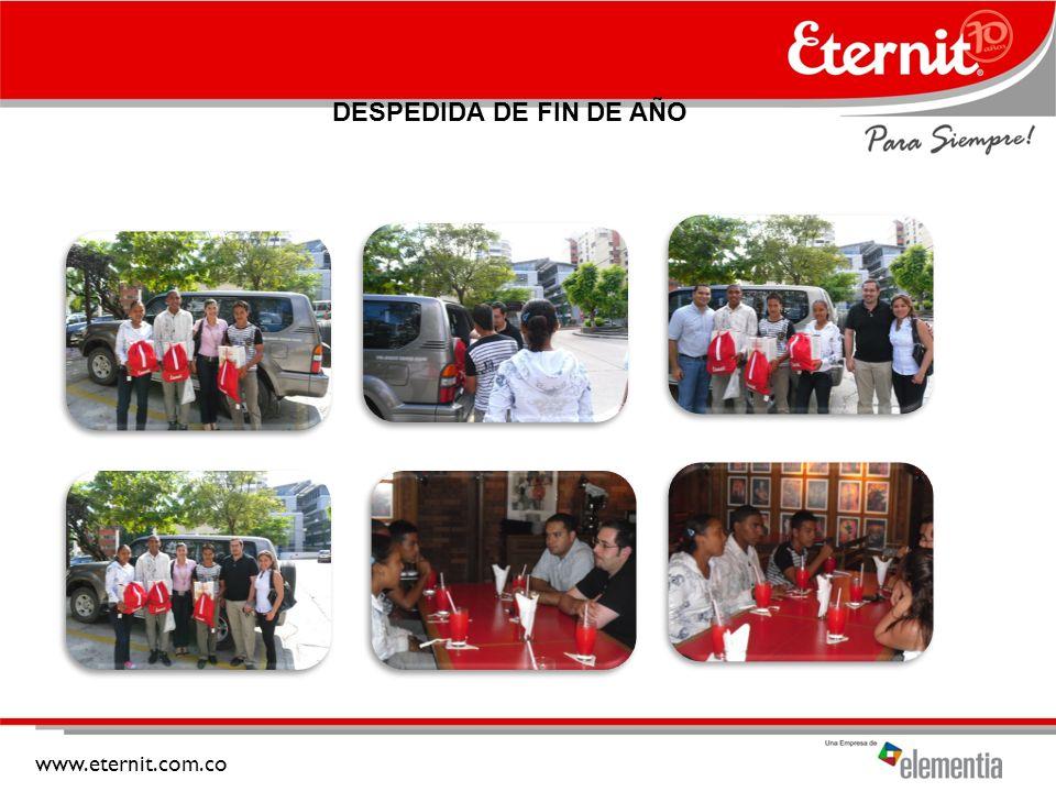 www.eternit.com.co DESPEDIDA DE FIN DE AÑO