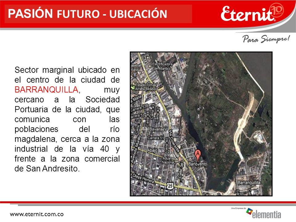 www.eternit.com.co NIVEL SOCIOECONÓMICO El nivel socio económico que caracteriza la población estudiada corresponde a personas estrato 1.
