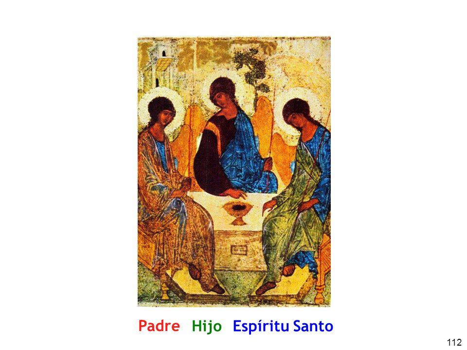 112 Padre HijoEspíritu Santo