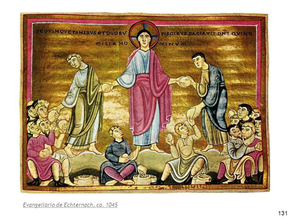 131 Evangeliario de Echternach, ca. 1045