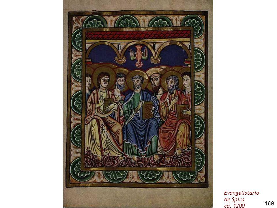 169 Evangelistario de Spira ca. 1200