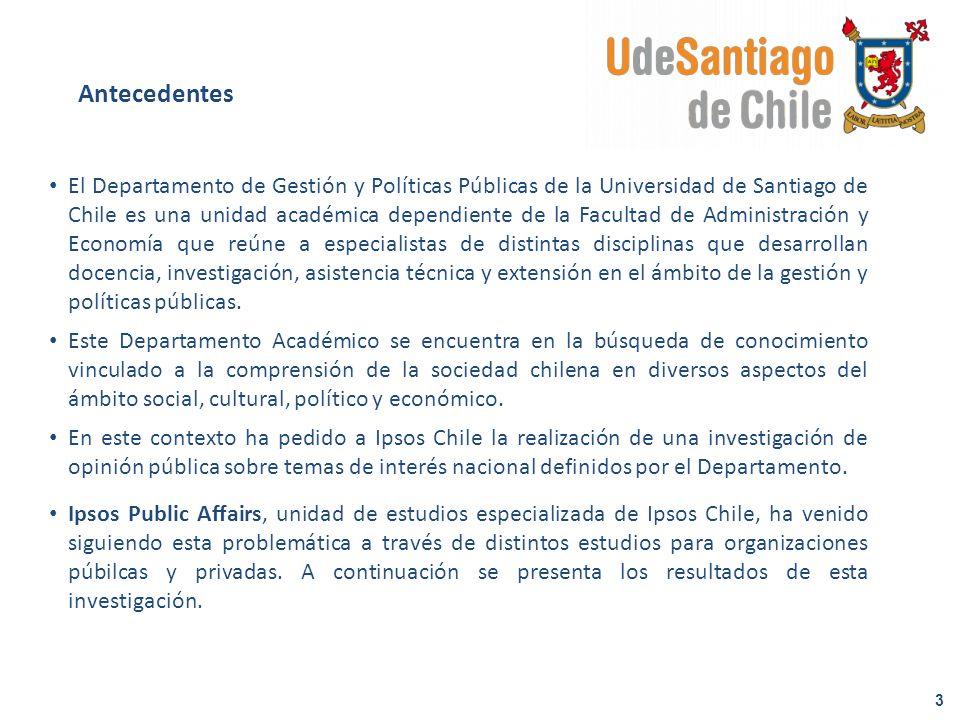 El Departamento de Gestión y Políticas Públicas de la Universidad de Santiago de Chile es una unidad académica dependiente de la Facultad de Administr