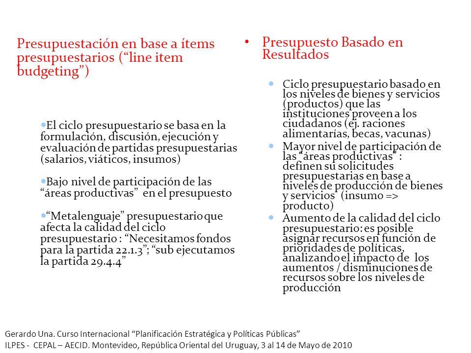 29 La Experiencia Peruana En el 2008, Perú inicio un proceso de mejora de su ciclo presupuestario.