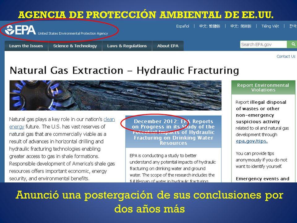 AGENCIA DE PROTECCIÓN AMBIENTAL DE EE.UU.