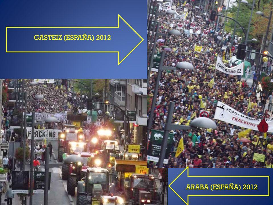 GASTEIZ (ESPAÑA) 2012 ARABA (ESPAÑA) 2012