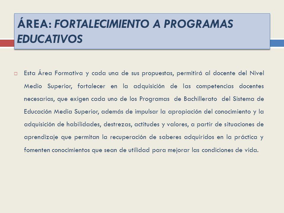 UNIVERSIDAD DE GUADALAJARA SISTEMA DE EDUCACIÓN MEDIA SUPERIOR DIRECCIÓN DE FORMACIÓN DOCENTE E INVESTIGACIÓN PROGRAMAS DE FORMACIÓN DOCENTE (2012)