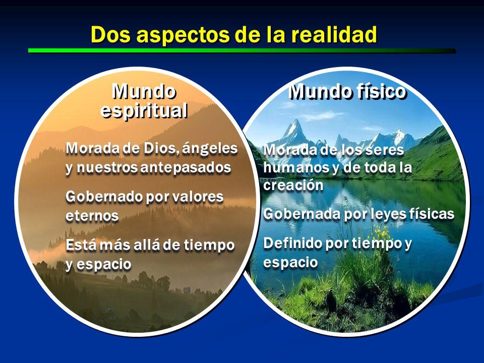 10 Dos aspectos de la realidad Mundo físico Morada de los seres humanos y de toda la creación Gobernada por leyes físicas Definido por tiempo y espaci