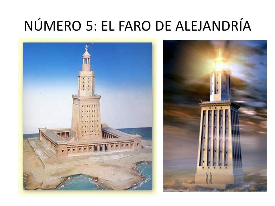 NÚMERO 5: EL FARO DE ALEJANDRÍA