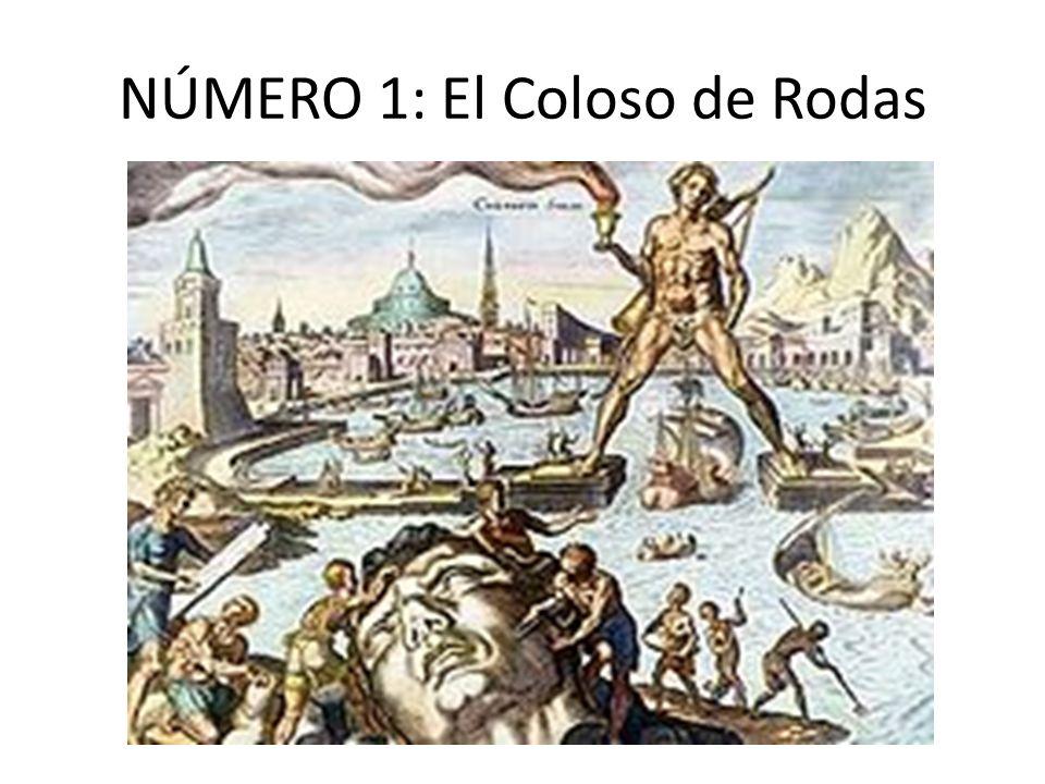 El Coloso de Rodas: El Coloso de Rodas era una gran estatua del dios griego Helios, realizada por el escultorCares de Lindos en la isla de Rodas (Grecia) en 292 a.
