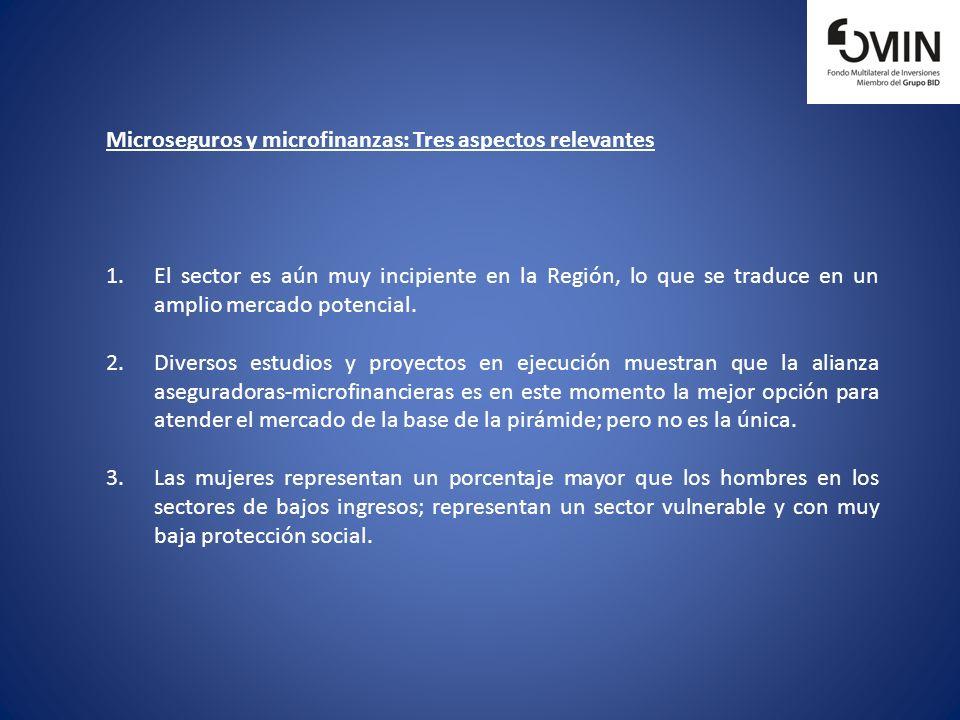 Microseguros: Marco de Referencia El Microseguro es la protección de personas de bajos ingresos contra riesgos específicos a cambio del pago regular de una prima proporcional a la posibilidad y el costo del riesgo involucrado.
