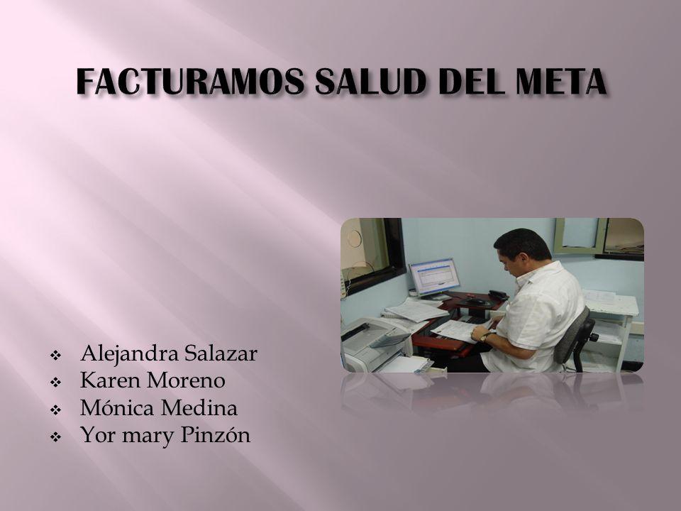 Alejandra Salazar Karen Moreno Mónica Medina Yor mary Pinzón