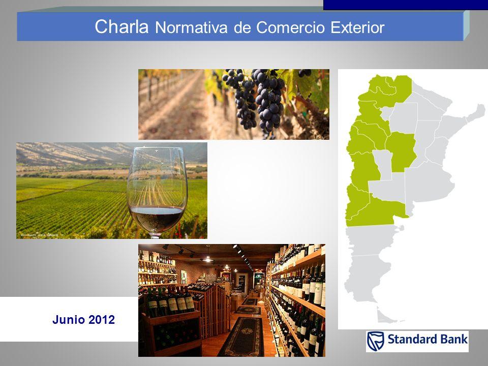 Charla Normativa de Comercio Exterior Junio 2012