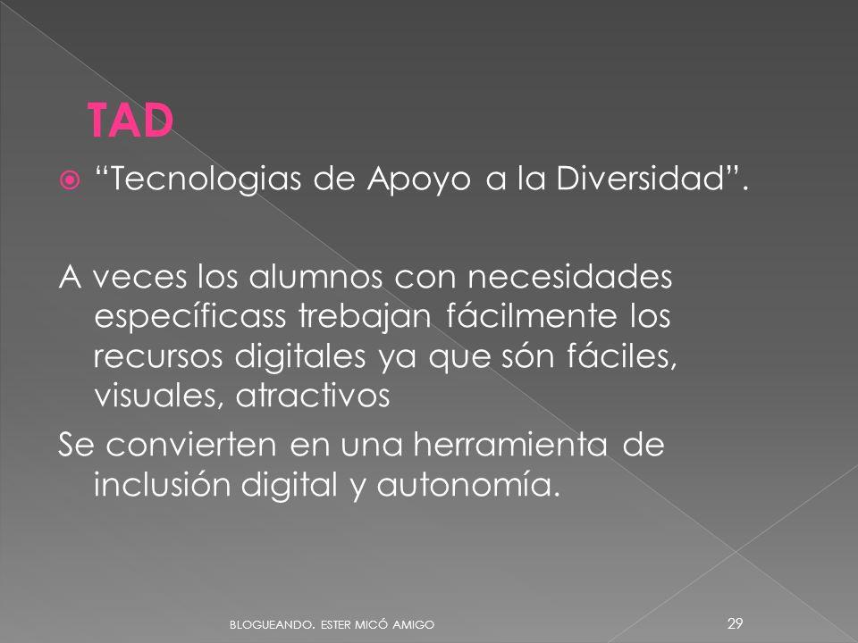 Tecnologias de Apoyo a la Diversidad.