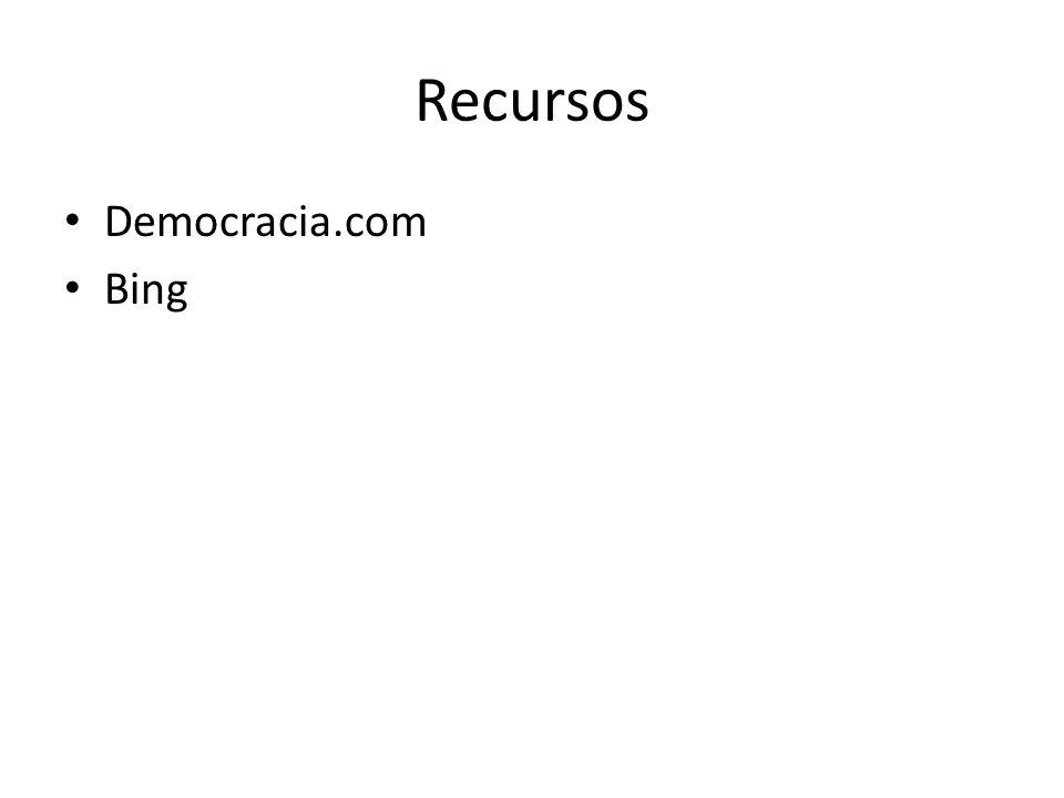 Recursos Democracia.com Bing