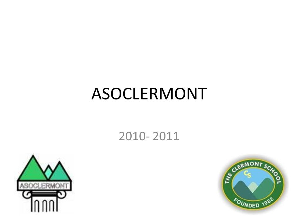 ASOCLERMONT 2010- 2011