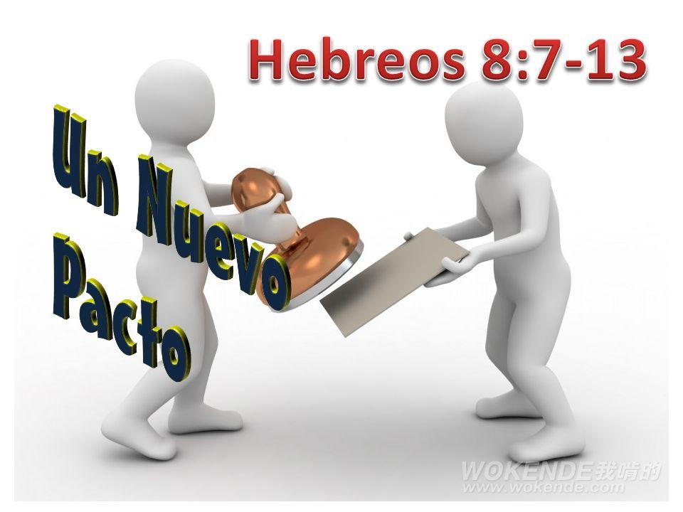 Hebreos 8:13 παλαιόω palaioō (παλαιόω), hacerlo viejo, declarar o tratar como obsoleto.