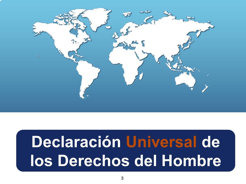Declaración Universal de los Derechos del Hombre 33