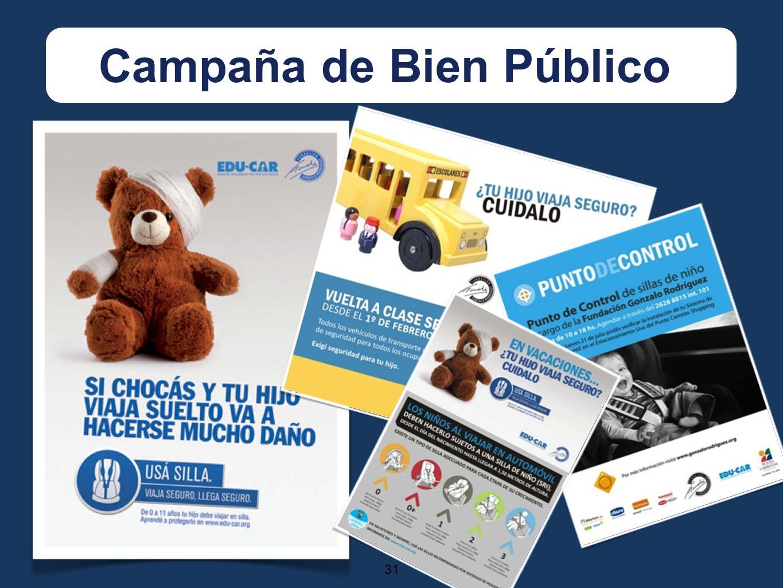 31 Campaña de Bien Público