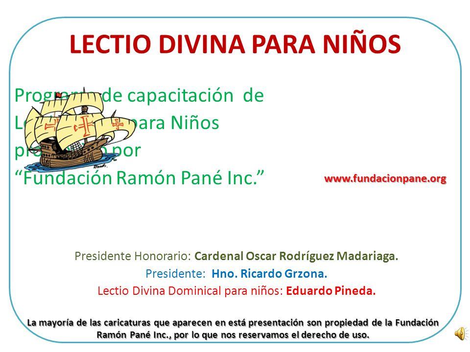 Lectio Divina Vigésimo Quinto Domingo Ordinario Ciclo C Hola Misioneritos Debes amar a Dios por sobre todas las cosas que posees