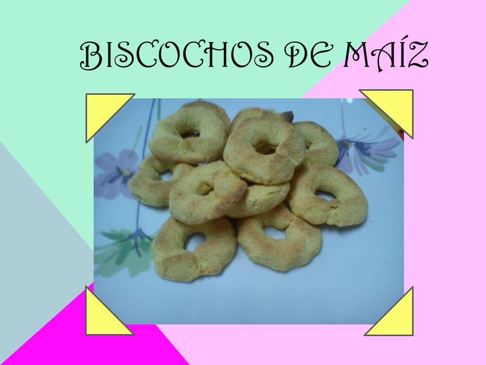 BISCOCHOS DE MAÍZ