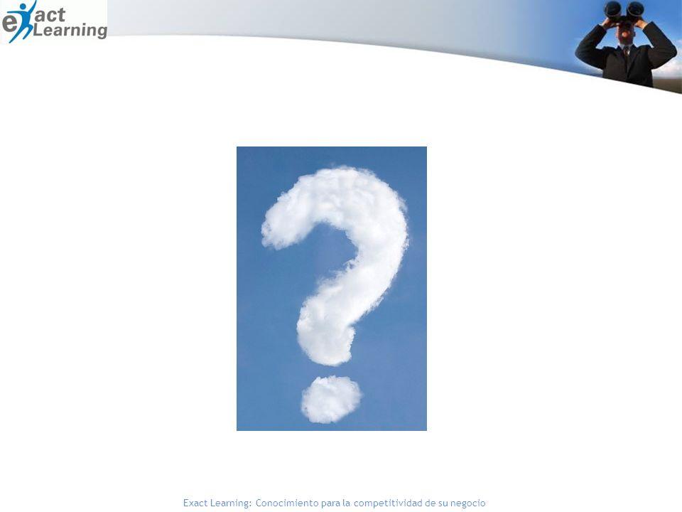 Exact Learning: Conocimiento para la competitividad de su negocio