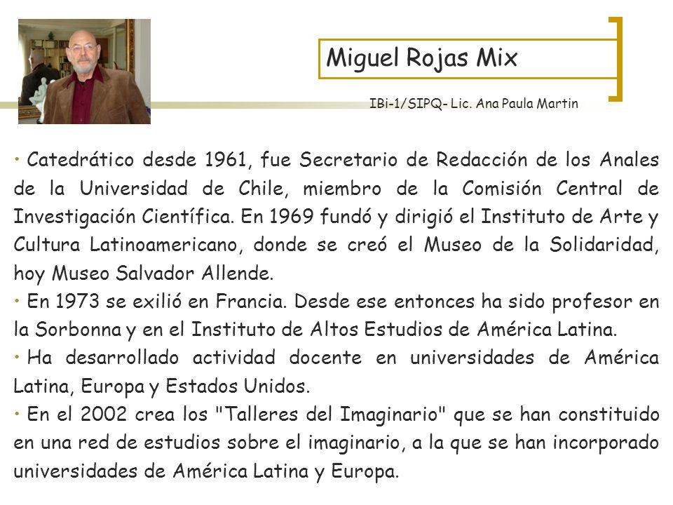 Catedrático desde 1961, fue Secretario de Redacción de los Anales de la Universidad de Chile, miembro de la Comisión Central de Investigación Científi