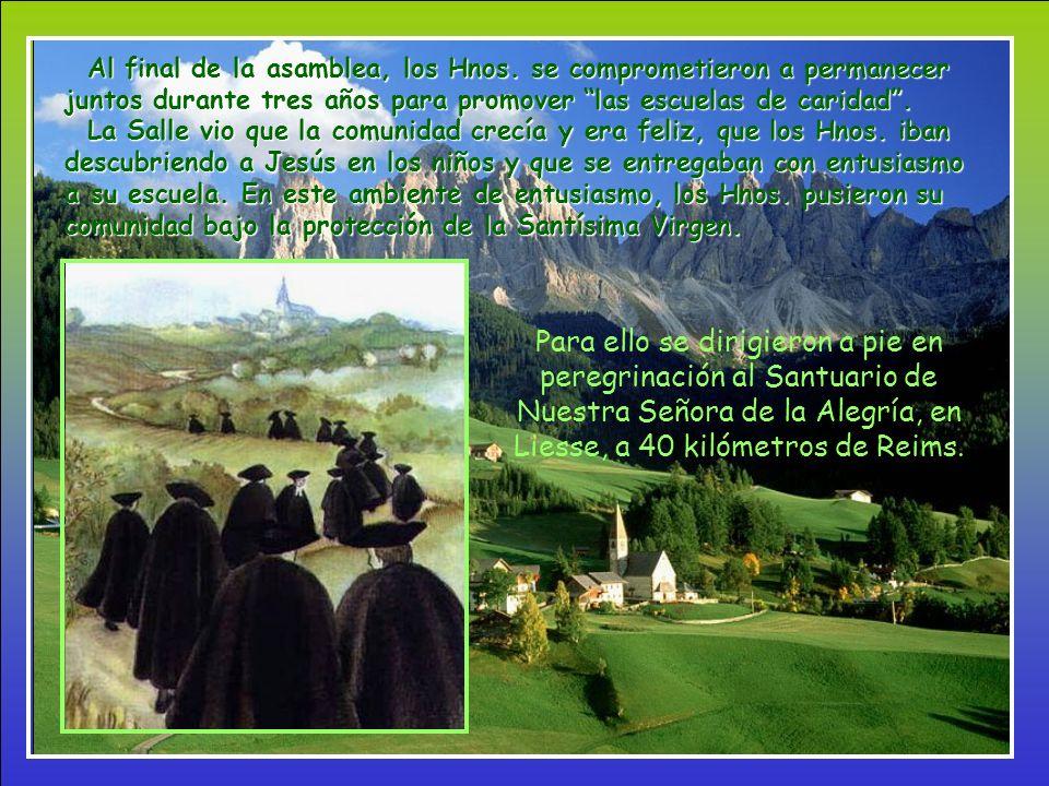 En la primavera de 1686, Juan reúne en asamblea a sus compañeros.